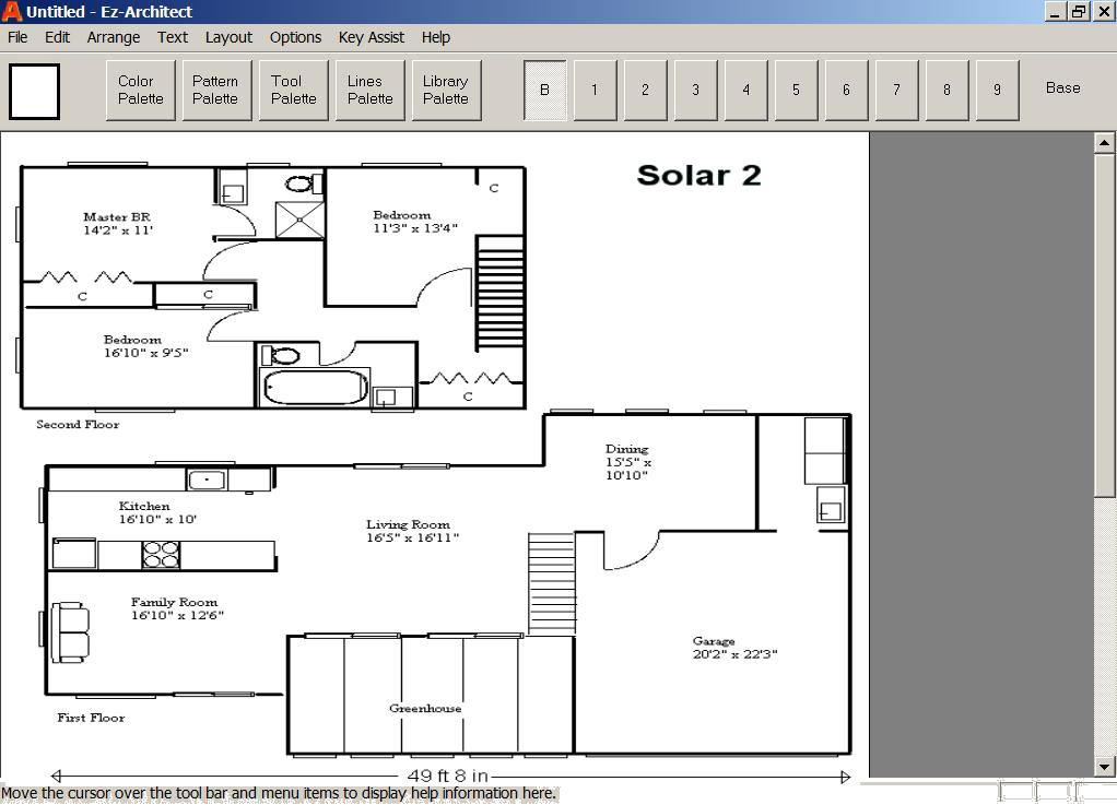 Ez architect for windows 7 and 8 and 10 and xp and vista Easy home design program