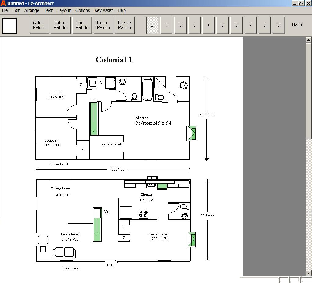 Ez architect for windows 7 and 8 and 10 and xp and vista Make my home design