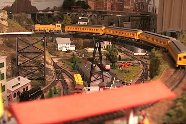 Deep Rock Railroad & N-scale Roller Coaster!